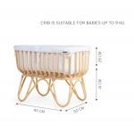 Childhome - Rattan Cradle Rectangular - BONUS CODE