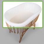 Childhome bumper for rattan cradle