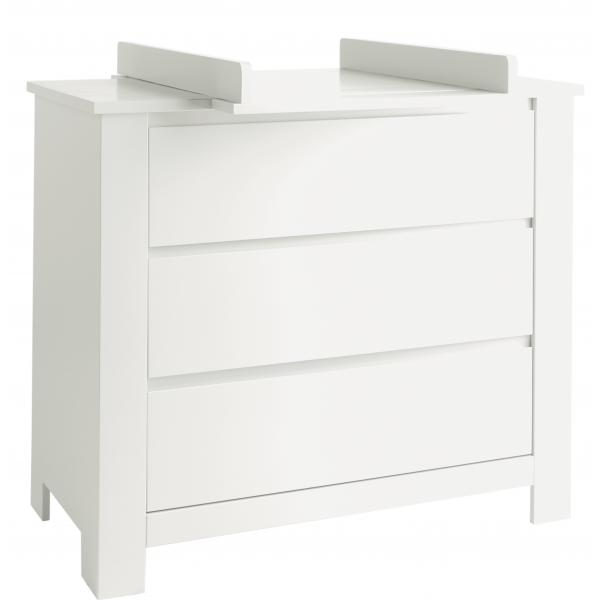 Pericles - Laura - Chest of Drawers with extension - White