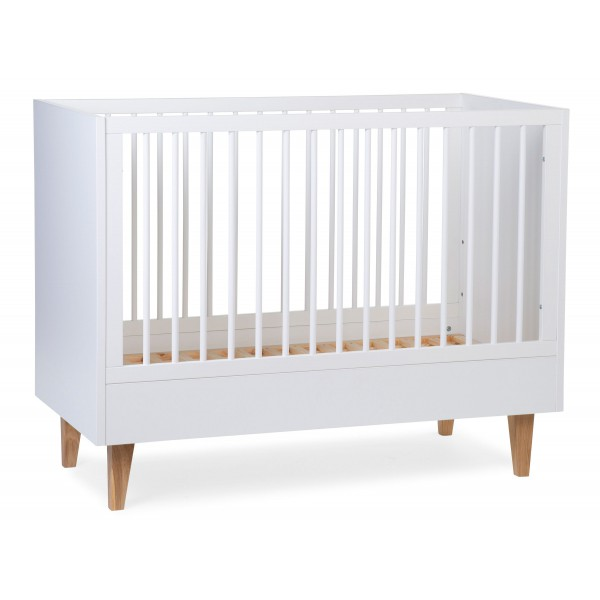 Childhome - Lalande White - Baby Bed - 60x120 Cm