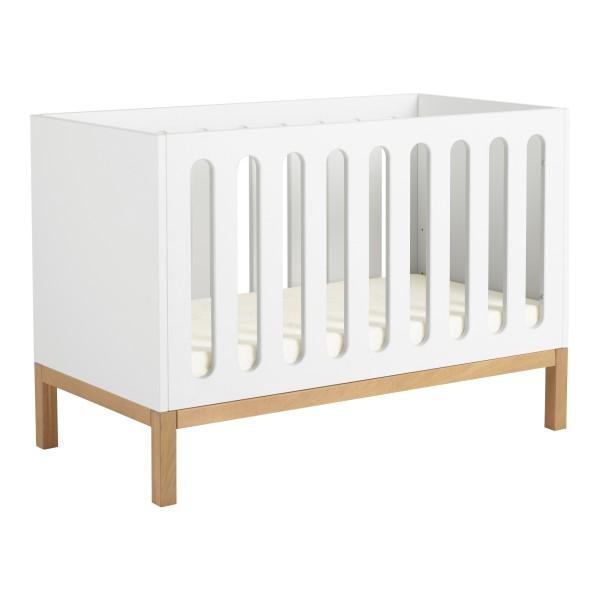 Quax Indigo Cot/Bench  60x120cm -White - QC