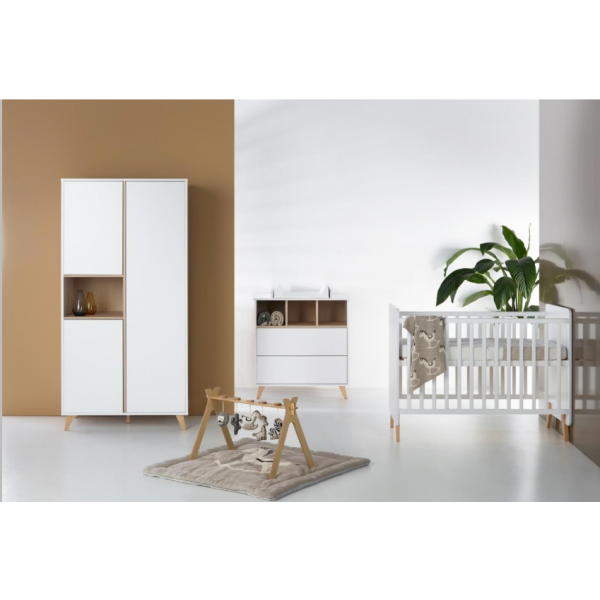Quax Loft White Full Growing Babyroom (to adult)
