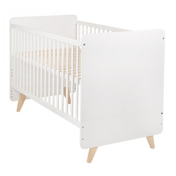 Quax Loft White Convertible Bed 70x140cm - QC