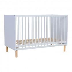 Quax Mono White Bed 60x120cm