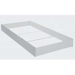 Quax Quarre drawer for bed 90 x 200 cm - Nebbia