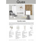 Quax Camille White combination Chest with Cot -Promo-