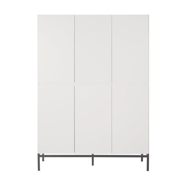 Quax Havana Wardrobe 3+3 doors - White