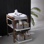 Quax Changing table Comfort White-naturel