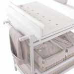Quax Changing table with bath Comfort Luxe White