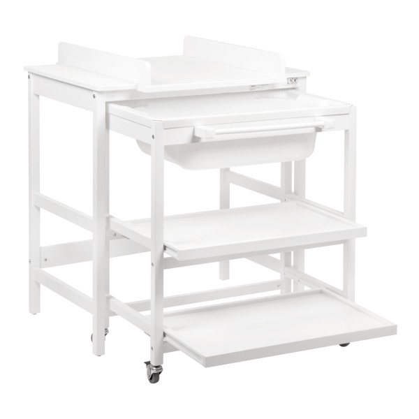 Quax Changing table with bath Smart White