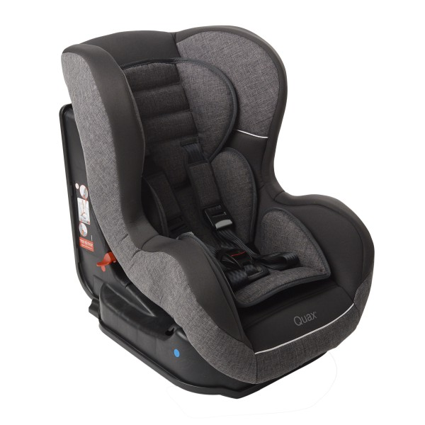Quax carseat group 0/1 linen grey