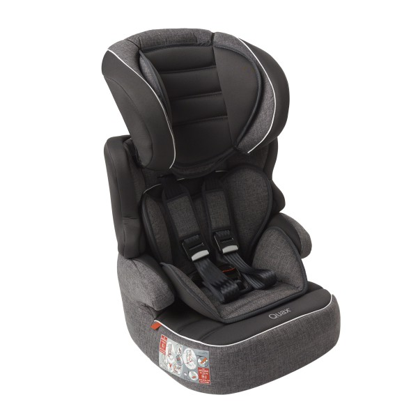 Quax carseat group 1/2/3 linen grey