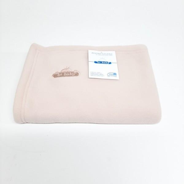"Hé Baby Blanket ""Respire"" for Bed - Beige - 100x150  cm"