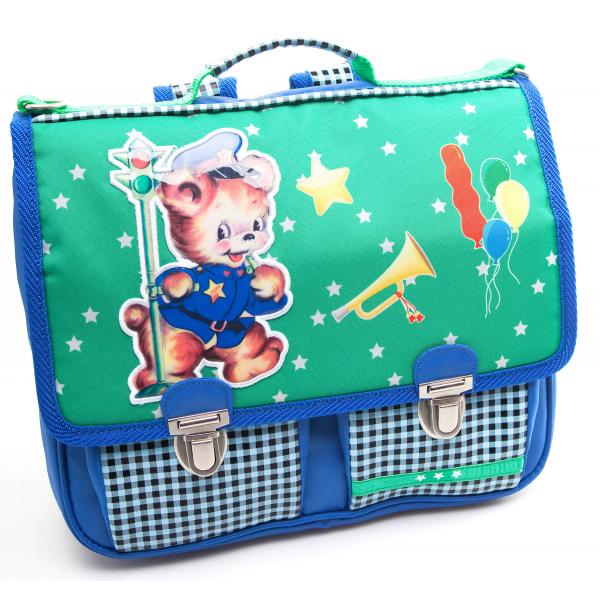 """Pepper Bags schoolbag """" Vintage bear """""""