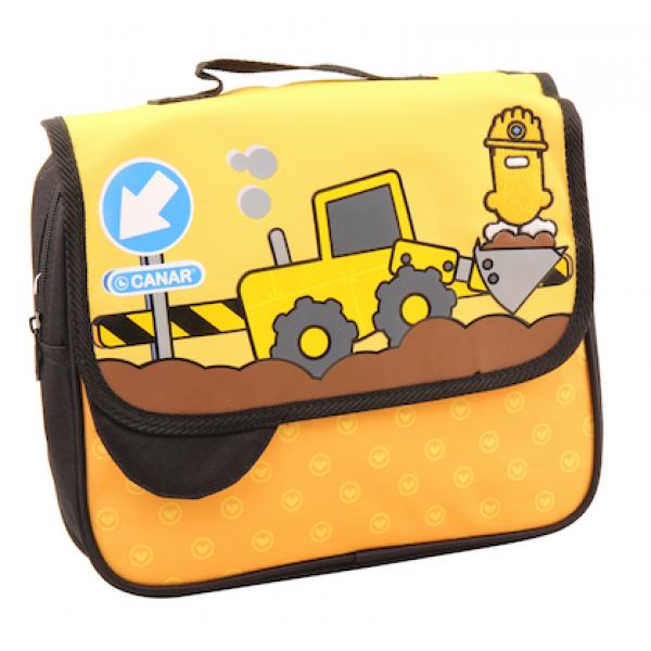"Canar School bag ""Bulldozer"""