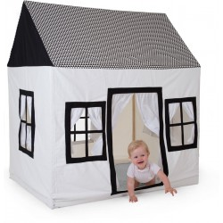 -gereserveerd- Childhome Katoenen Speelhuis 125x95x145 -structuur-