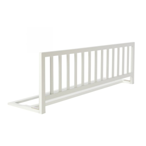 Safety Barrier in Wood - White