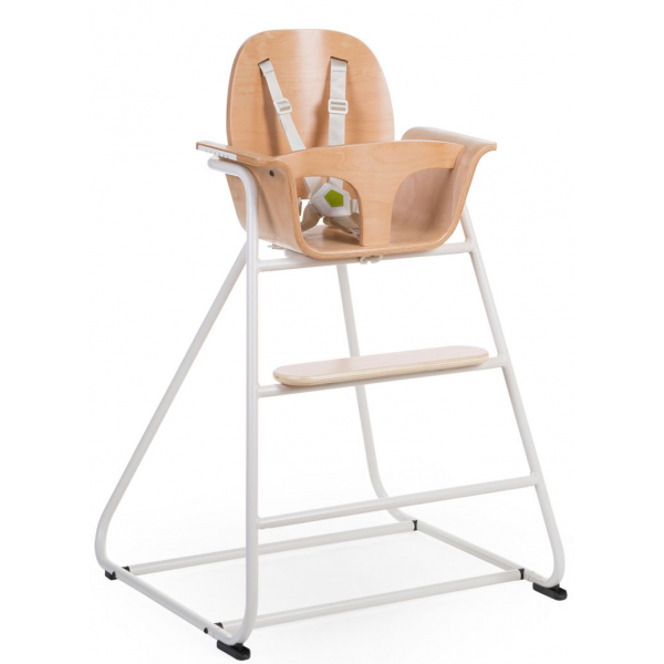 Childwood Ironwood  White high chair