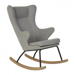 -reserved- Quax rocking adult chair de luxe - sand grey