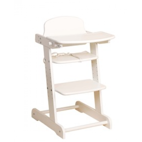 Pericles Growing chair Silvana White